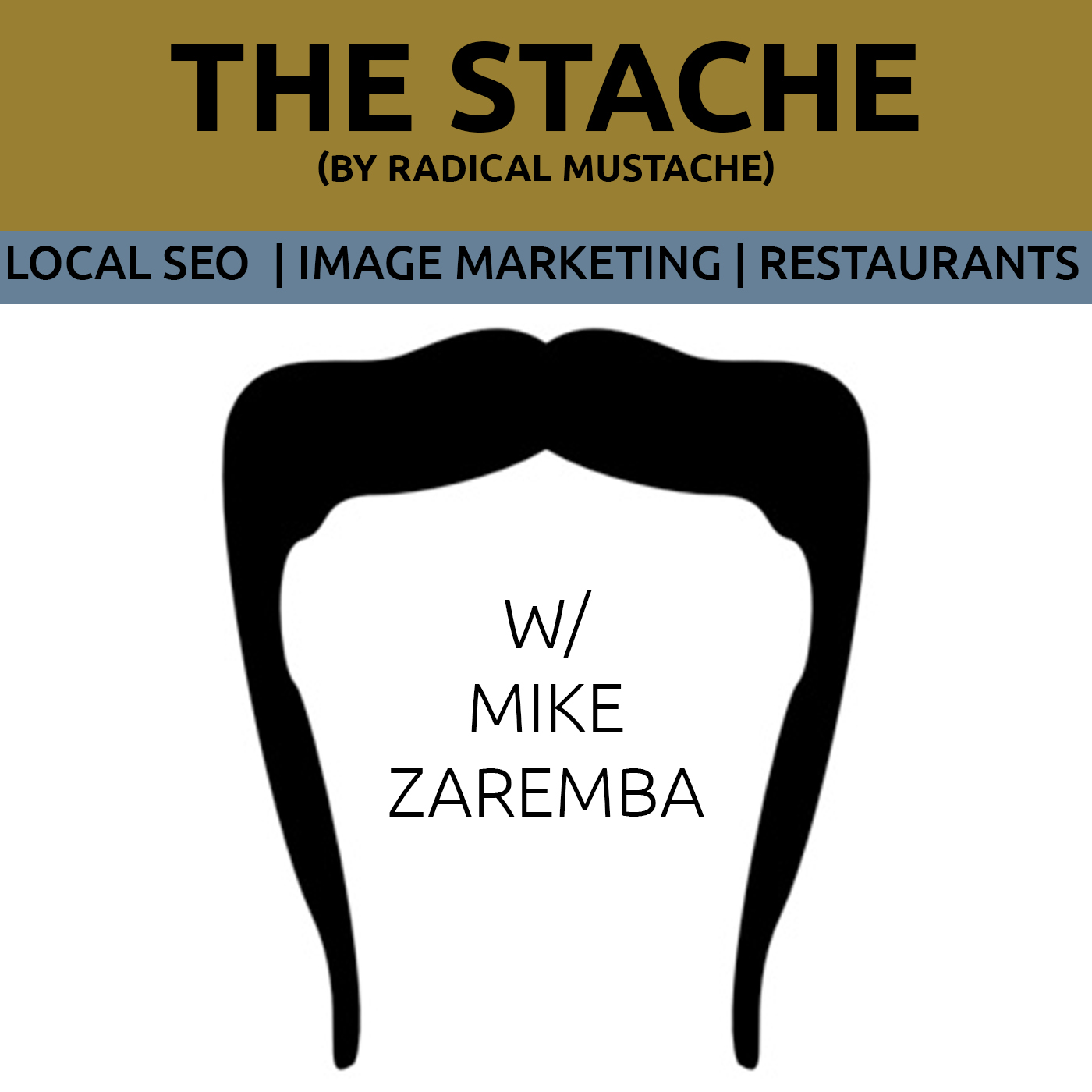 The Stache Podcast: Local SEO – Social Media – Email – Photography- For Restaurants & More